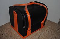 Сумка-чемодан мастера большая черная