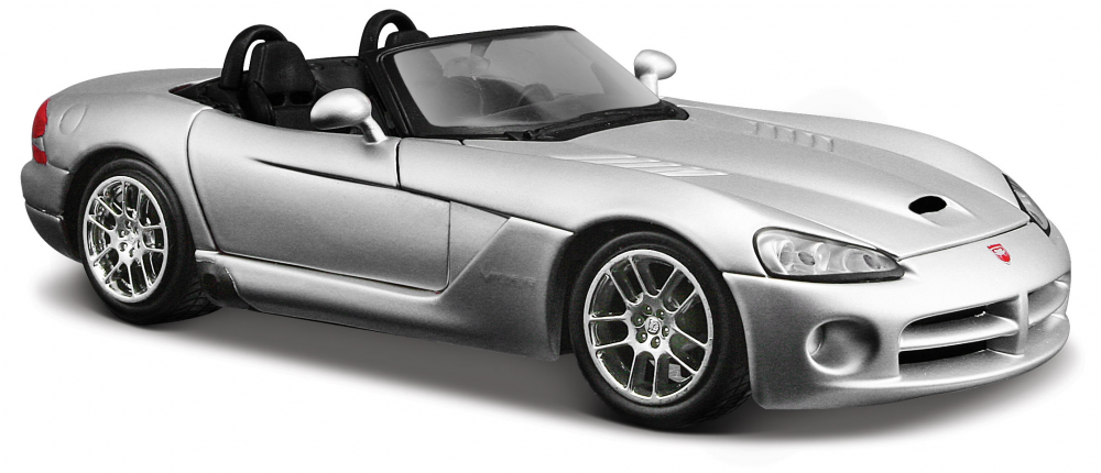Автомодель (1:24) Dodge Viper SRT-10 серебристый