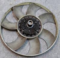 Вентилятор + термомуфта (б/у) DAF 400 LDV Convoy 2.4 TDi (02-06), Даф ЛДВ Конвой, автозапчасти, разборка