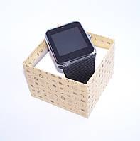 Смарт часы - телефон SMART WATCH GT08 GSM (в стиле Apple Watch) black, фото 1