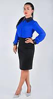 Классическая женская юбка - карандаш за колено