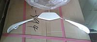 Плечики с силиконовой лопаткой белые, фото 1