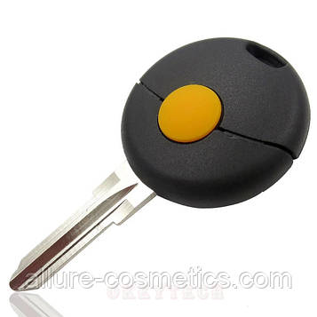 Ремкоплект ключа (болванка) smart однокнопочный