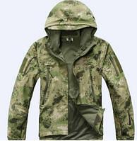 Куртка тактическая. Оригинальная ткань softshell (ветровлагозащитная), фото 1