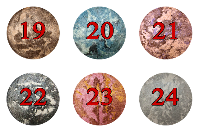 Тени NUOBEIER № 518 запеченные, разных цветов, дешево, оптом и в розницу в интернет - магазине по всей Украине.