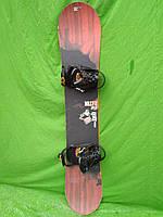 Сноуборд Salomon drift rocker 158 см +  кріплення Atomic