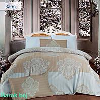 Постельное белье Altinbasak (семейное) сатин № Barok Bej