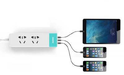 Комби удлинитель Remax Youth RU-S3 с 3 USB 220V евровилка