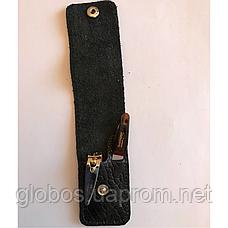 Маникюрный набор GLOBOS 120-8 в кожаном футляре, фото 3