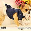 """Платье джинсовое для собаки, кошки """" Звезда"""" IS PET. Одежда для собак., фото 5"""