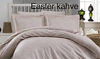 Постельное белье Altinbasak (семейное) сатин № Easter Kahve, фото 1