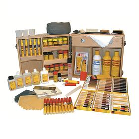 Реставраційні матеріали (дерево, шпон, ДСП, МДФ, кераміка, камінь).