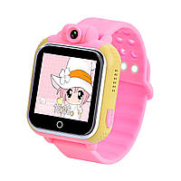 Часы Smart Watch Q200 Kids GPS/ WIFI/ камера pink'', фото 1