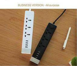 Комби удлинитель Remax Business RU-S2 с 4 USB 220V евровилка