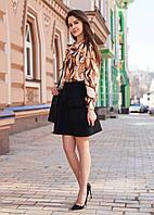 Женская Рубашка с принтом в виде кукурузы M, бежевый