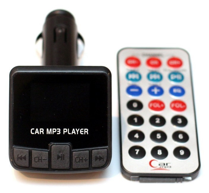 FM МОДУЛЯТОР (FM35) ПУЛЬТ, MICRO SD, USB, AUX-ВЫХОД