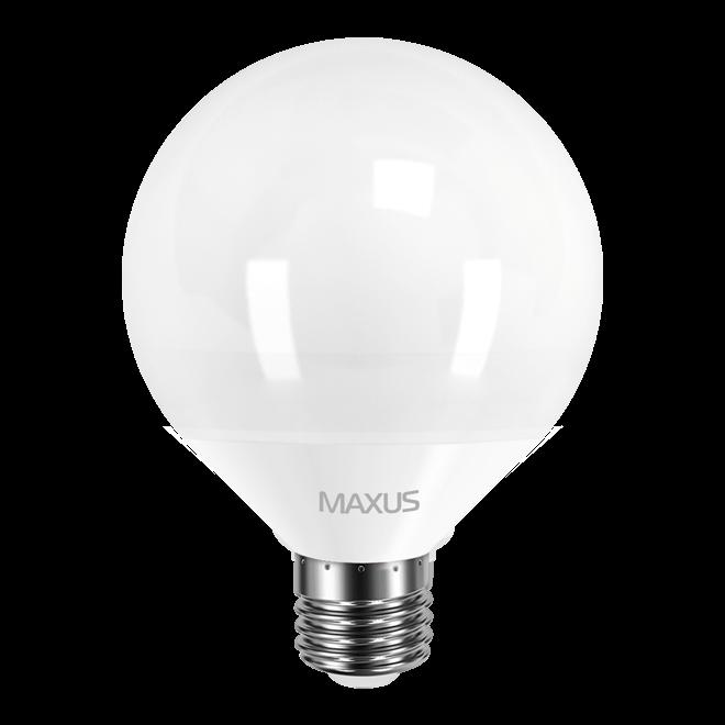 Светодиодная LED лампа MAXUS, 12W, 3000K, 220V, G95, E27