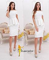 Платье Ткань Трикотаж джерси высокого качества Сзади на потайной молнии Размер единый С-М(21097)