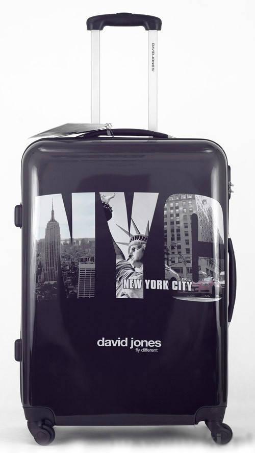 Чемодан David Jones 8818 Средний New York City