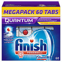 Calgonit Finish Powerball Средство для мытья посуды для посудомоечных машин 1,068 г, 60 шт