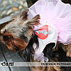 """Платье для собаки, кошки  """"Влюбленный ковбой"""" IS PET. Одежда для собак., фото 5"""