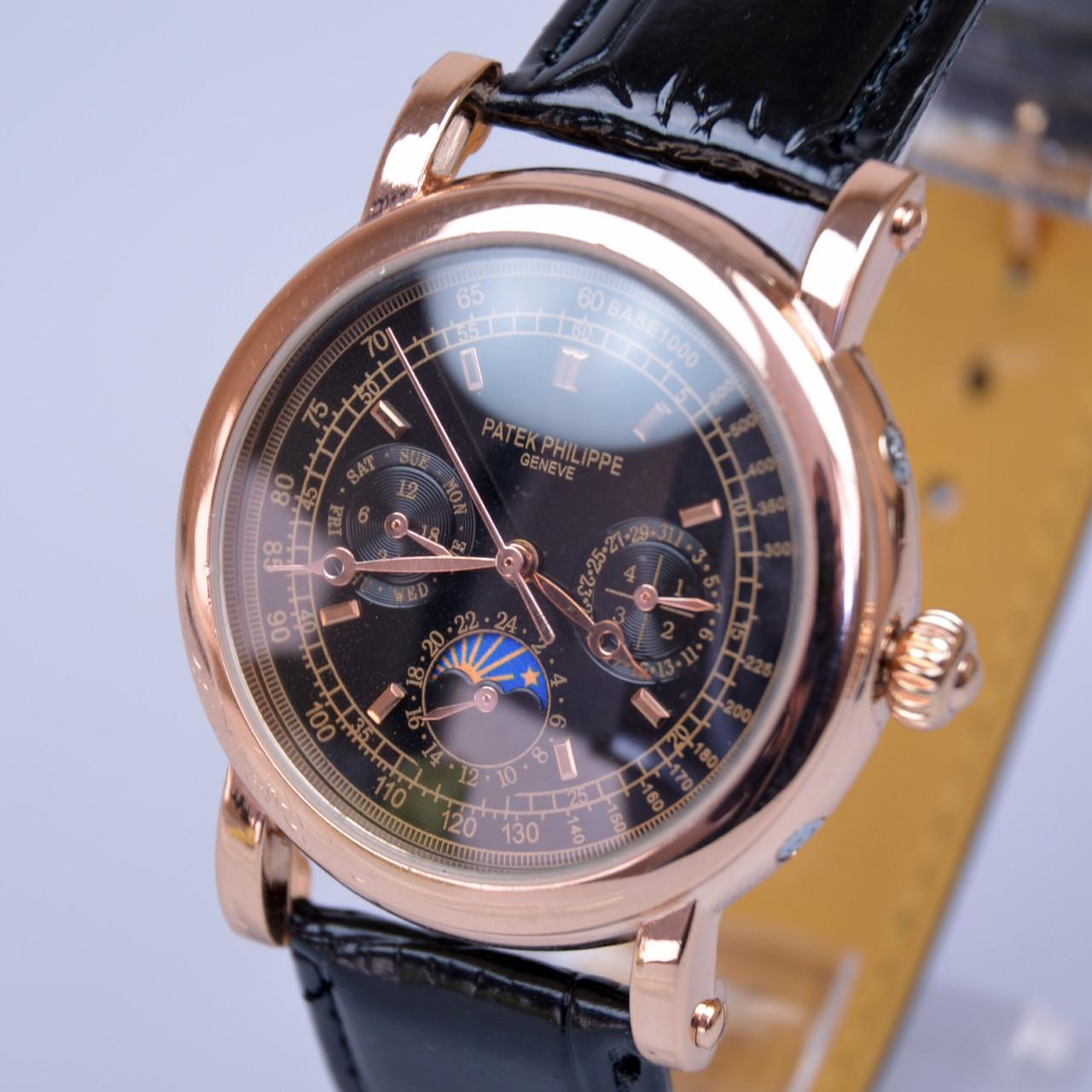 Мужские золотые наручные часы