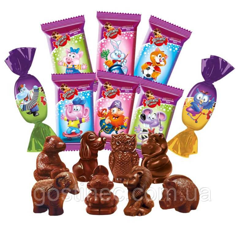 Шоколадные конфеты Детский сувенир