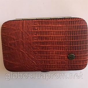 Маникюрный набор для домашнего использования GLOBOS 78701N snake, фото 2