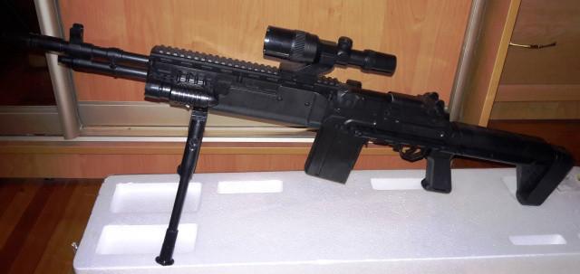 Штурмовая винтовка на пульках (6мм) CYMA P.1160 Реплика Heckler & Koch