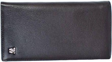 Стильный женский кошелек из натуральной кожи WANLIMA (ВАНЛИМА) W31508508595-black