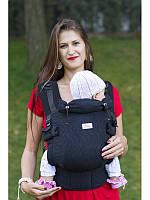 Ерго-рюкзак DI SLING ADAPTED BLACK (чорний)