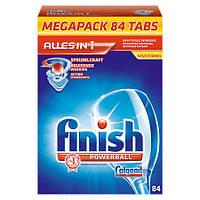 Calgonit Finish Powerball Средство для мытья посуды для посудомоечных машин 1,663 г, 84 шт