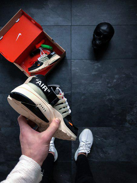 79555539 Мужские кроссовки Nike x Off-White Air Presto, Копия: продажа, цена ...