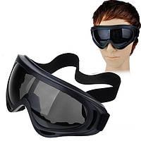 Защитные очки маска страйкбол вело мото лыжи спорт