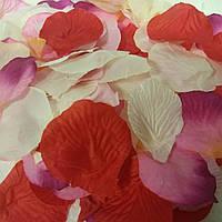 Лепестки роз искусственные 500 шт.