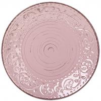 Тарелка 8 Античная розовая