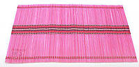Бамбуковый коврик (салфетка) Bamboo Mat-117, 30х45см, цветной