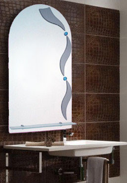 Зеркало для ванной комнаты 400х700 мм Ф227