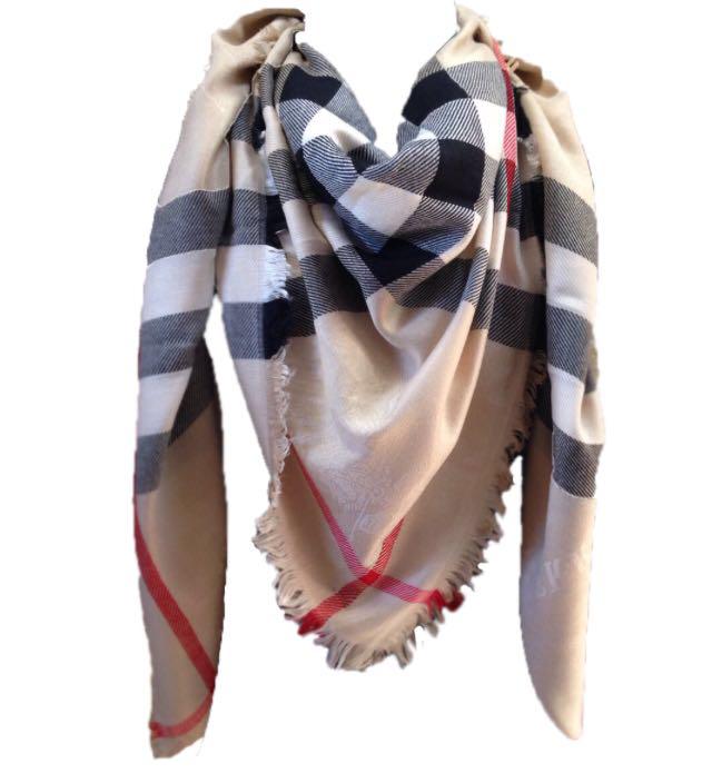 4f5eae986bf4 Большой кашемировый платок, шаль Burberry - Модные вещи оптом и в розницу