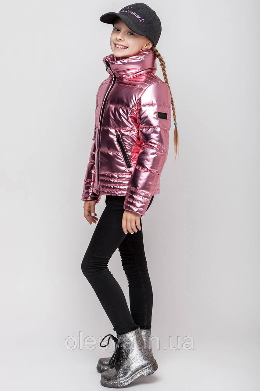 Модная демисезонная куртка для девочки подростка Размеры 134- 164 Новинка 2018!