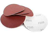 Наждачные диски на липучке, 125mm (P-240), фото 1