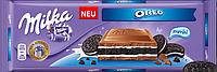 Шоколад молочный Milka Oreo 300г Милка