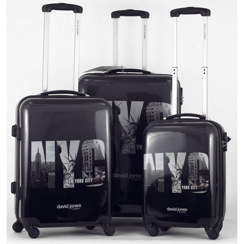 Комплект чемоданов David Jones 8818 New York City