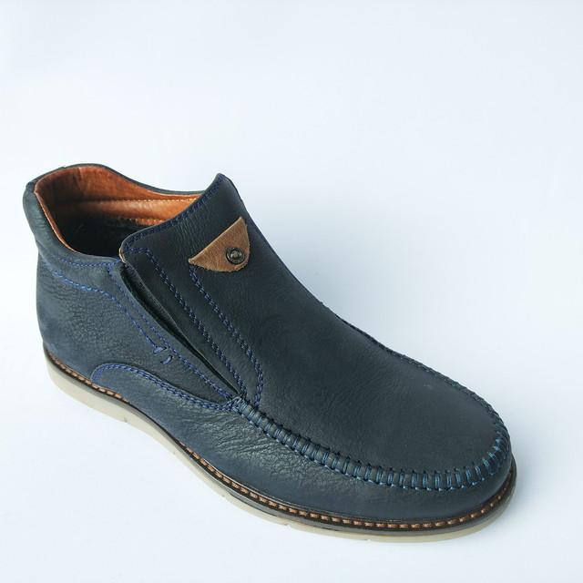 зимняя мужская кожаная обувь от украинского производителя Falcon Харьков