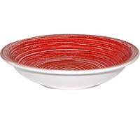 """Тарелка 8,25 'суп. """"Пастель Красная"""""""