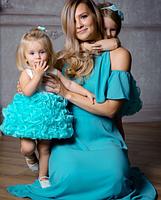 Детское платье -  Мята, фото 4