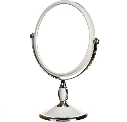 Зеркало косметическое двухстороннее с увеличением 17*2*32см (0500-004), фото 2