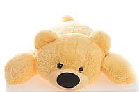 Большая мягкая игрушка медведь Умка 125 см персиковый, фото 1