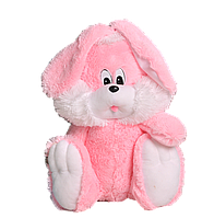 Зайчик Алина сидячий 110 см розовый