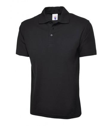 Мужская однотонная футболка Поло 124-36